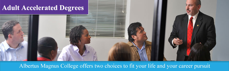 Adult Accelerated Degrees - Two choices to fit your life and your career