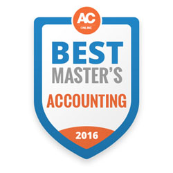 accounting program ranked nationally