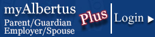 myAlbertus Plus Login Button