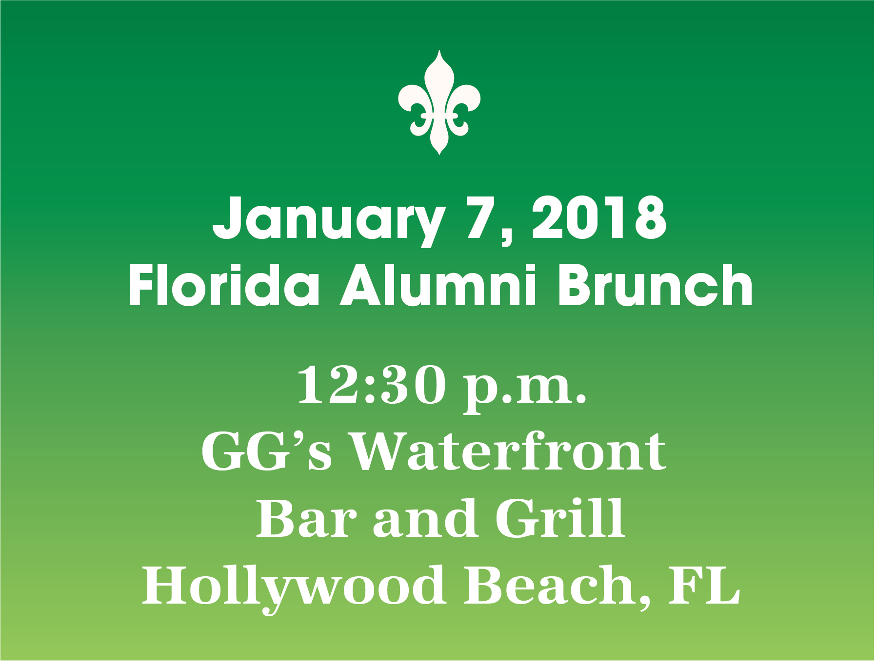 Florida Alumni Brunch